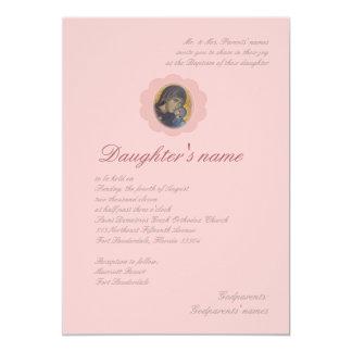 Pink Blossom 13 Cm X 18 Cm Invitation Card
