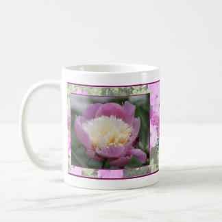 Pink Blossom Mug for Couples