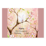 Pink Blossom View Large Business Cards (Pack Of 100)