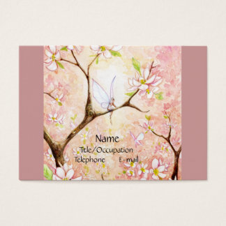 Pink Blossom View Business Card
