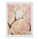 Pink Blossom View Poster