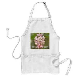 Pink Blossom You are the best Apron