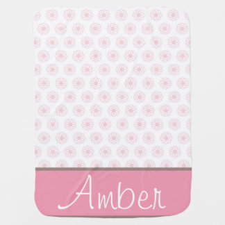 Pink Blossoms Baby Blanket