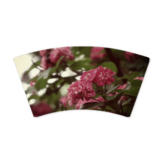Pink Blossoms Custom Paper Cup, 266 ml
