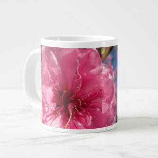 Pink Blossoms Large Coffee Mug