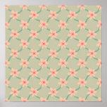 Pink Blossoms, pattern print
