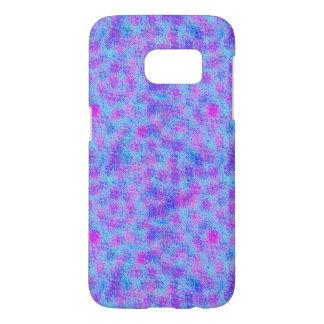Pink, Blue, and Aqua Splatter