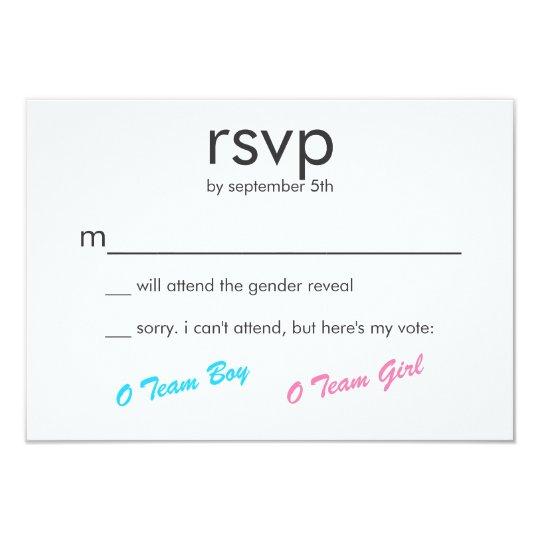 Pink & Blue Boy or Girl Gender Reveal