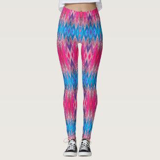 (pink & blue candy) leggings