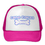 Pink & Blue Cane Corso Mesh Hats