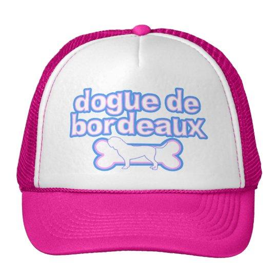 Pink & Blue Dogue de Bordeaux Cap
