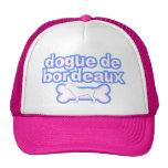 Pink & Blue Dogue de Bordeaux Trucker Hat