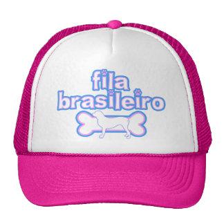 Pink & Blue Fila Brasileiro Hats