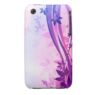 Pink & Blue Floral Case-Mate iPhone 3 Cases