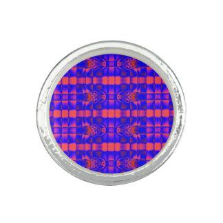 Pink Blue fractal pattern