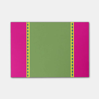 Pink, Blue, Green and Yellow Post It Note Post-it® Notes