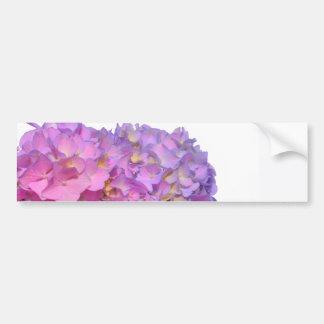 Pink & Blue  Hydrangeas Bumper Sticker