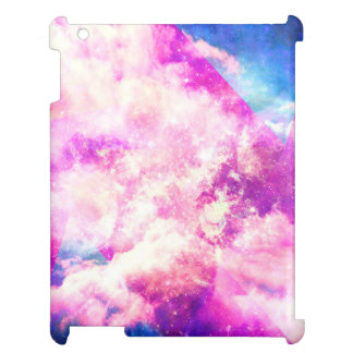Pink Blue  Purple Nebula Dreamy Clouds Case For The iPad 2 3 4