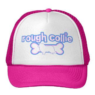 Pink & Blue Rough Collie Cap