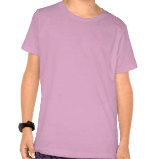 Pink Blush Nautilus Abstract T Shirt