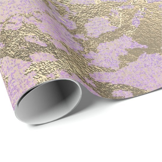 Pink Blush Painting Amethyst Rose Gold Marble Wrapping