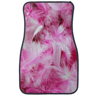 Pink Boa Car Mat