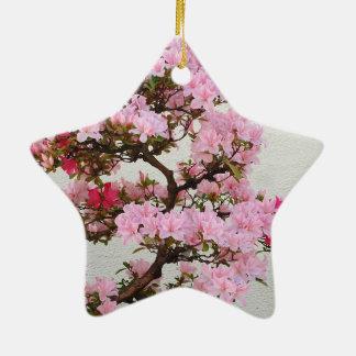 Pink Bonsai Tree Ornaments