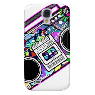 Pink Boombox Galaxy S4 Case