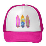 Pink Born To Surf Cap