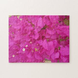 Pink Bougainvillea Flower (Greece) Jigsaw Puzzle