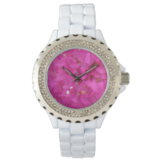Pink Bougainvillea Flower (Greece) Watch