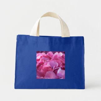pink bounty mini tote bag