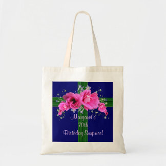 Pink Bouquet Birthday Gift Bag