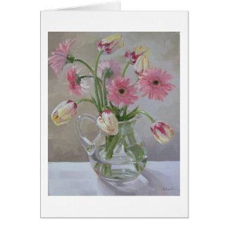 """""""Pink Bouquet"""" Card"""
