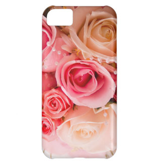 Pink Bouquet Cover For iPhone 5C