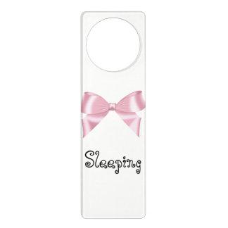 Pink Bow Collection Door Hanger