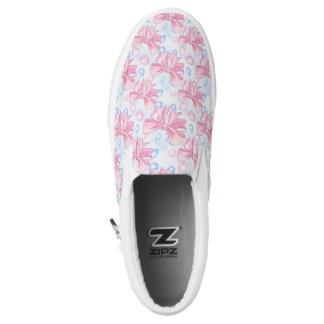 Pink Bow Slip-On Shoes