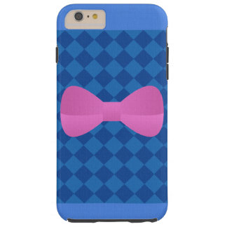 Pink Bow Tough iPhone 6 Plus Case