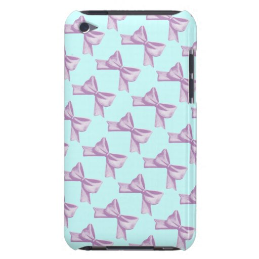 Pink Bows Barely There iPod Case