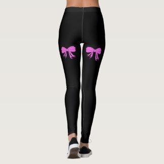Pink Bows Leggings