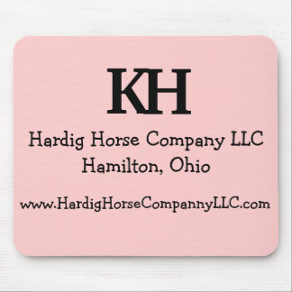 Pink Branded Mouse Pad for the Cowgirls