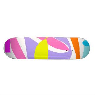 Pink Brave Sight Blazing Sky Big Thought Skateboard Decks