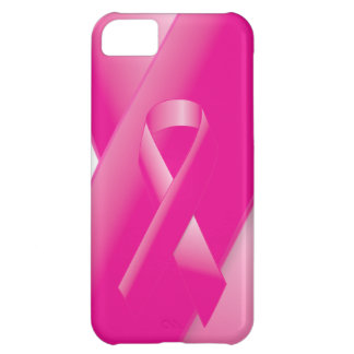 PINK BREAST CANCER SUPPORT RIBBON CAUSES WOMEN iPhone 5C CASE