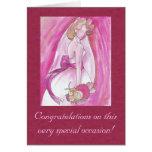 Pink Bride Card