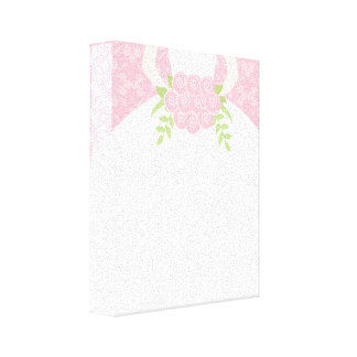Pink Bride Stretched Canvas Prints