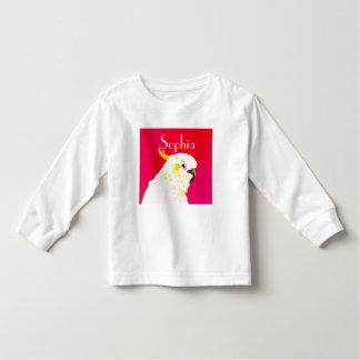 Pink Bright Cockatoo Toddler T-Shirt