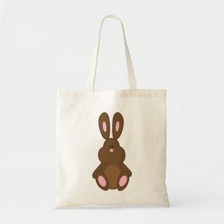 Pink & Brown Easter Bunny Bag