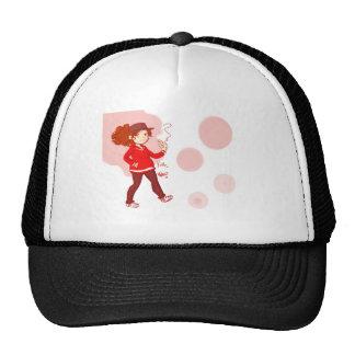 Pink Bubbles Cap