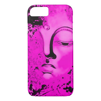 Pink Buddha Airbrush Art iPhone 7 Case