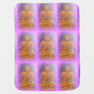 pink buddha baby blanket